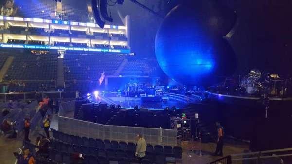 The O2 Arena, secção: 112, fila: H, lugar: 393