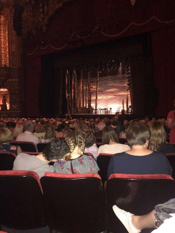 The Fabulous Fox Theatre (St. Louis), secção: Orchestra 5, fila: S, lugar: 18