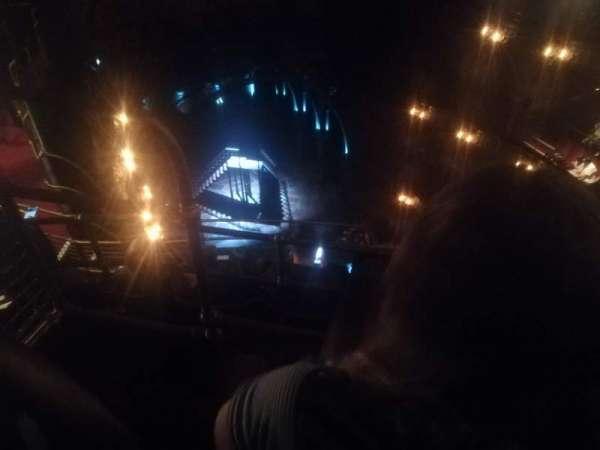 Palace Theatre (West End), secção: Balcony, fila: F, lugar: 27