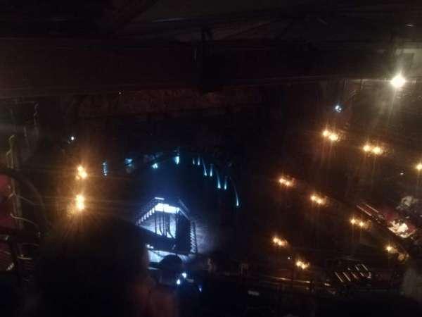 Palace Theatre (West End), secção: Balcony, fila: F, lugar: 26