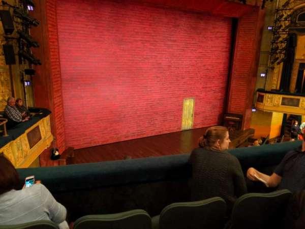 Shubert Theatre, secção: Mezzanine L, fila: C, lugar: 13
