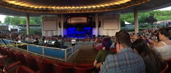 PNC Bank Arts Center, secção: 302, fila: L, lugar: 114