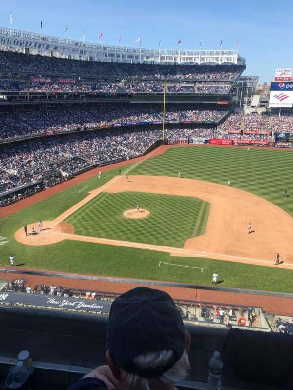 Yankee Stadium, secção: 315, fila: 2, lugar: 7