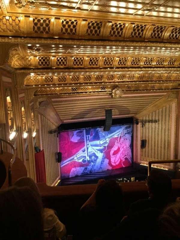Lyric Opera House, secção: Upper Balcony, fila: C, lugar: 42