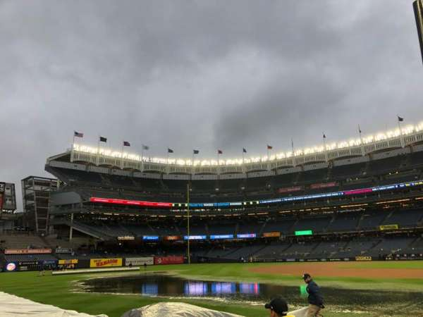 Yankee Stadium, secção: 129, fila: 3, lugar: 7