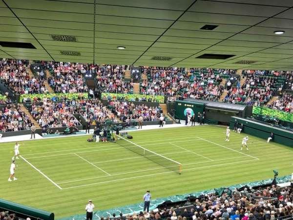 Wimbledon, Court No. 1, secção: 17, fila: ZB, lugar: 204