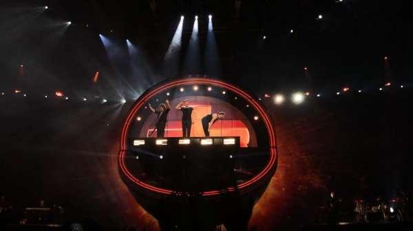 Arena Birmingham, secção: B, fila: J, lugar: 8