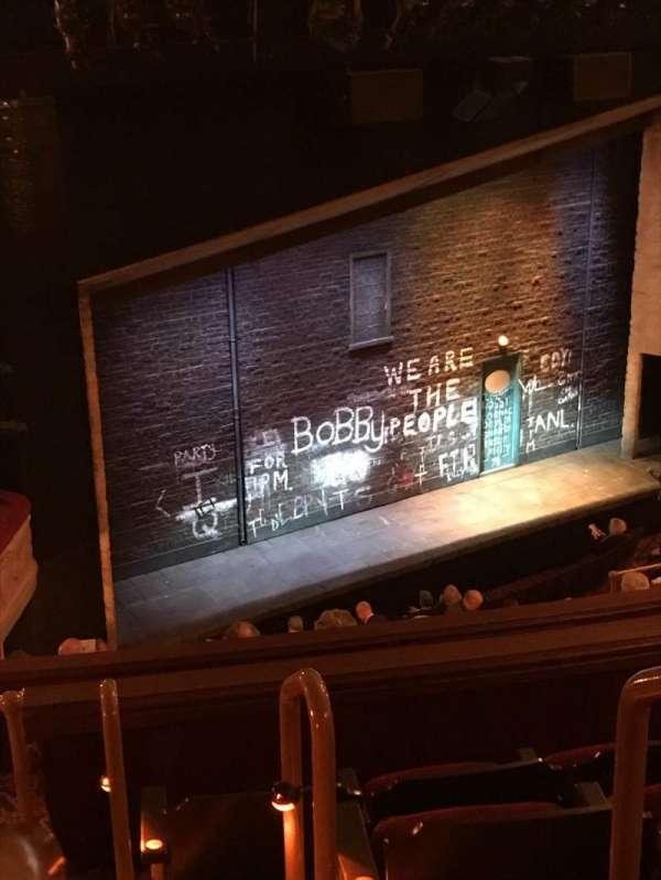 Bernard B. Jacobs Theatre, secção: Mezzanine L, fila: J, lugar: 25