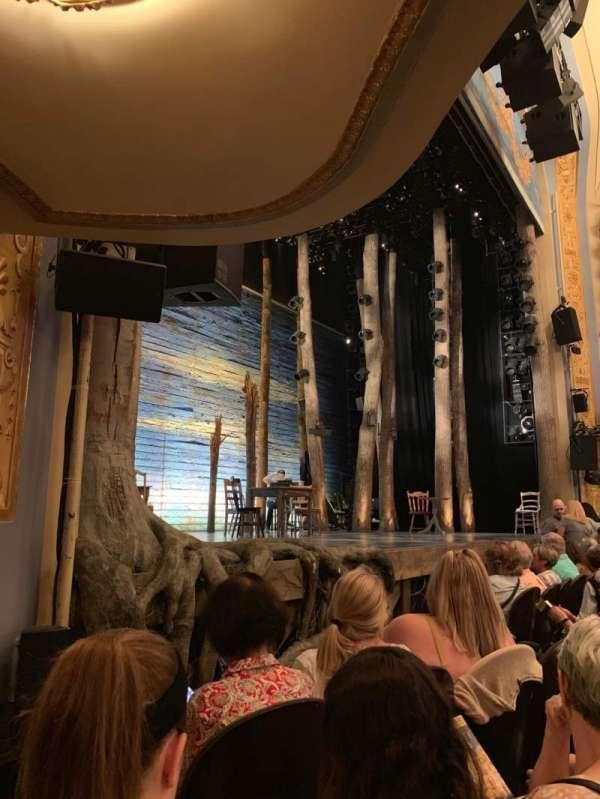 Gerald Schoenfeld Theatre, secção: ORCHPV, fila: C, lugar: 13