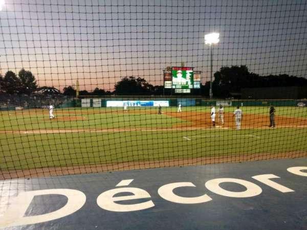 Montgomery Riverwalk Stadium, secção: 116, fila: 5, lugar: 10
