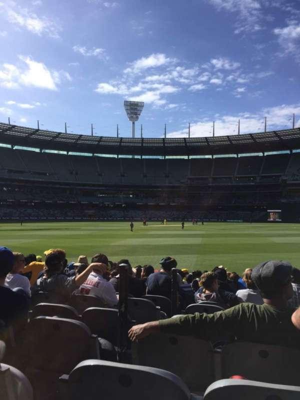 Melbourne Cricket Ground, secção: M13, fila: 12, lugar: 3