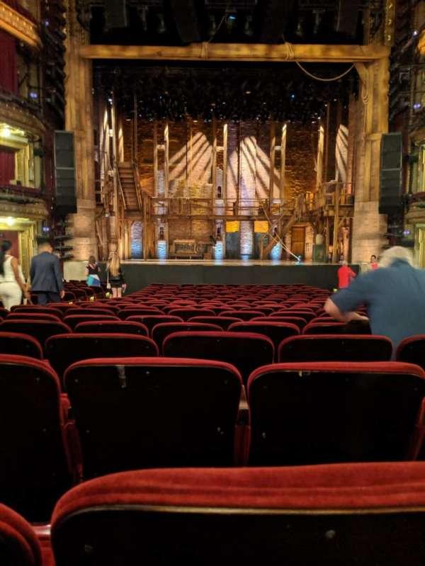 CIBC Theatre, secção: Orchestra C, fila: V, lugar: 108