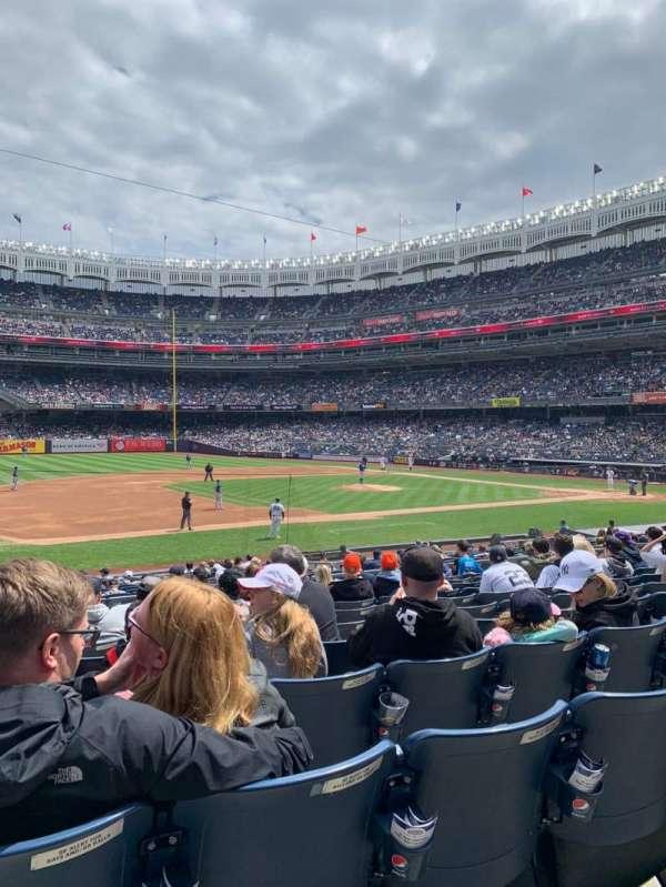 Yankee Stadium, secção: 126, fila: 11, lugar: 14