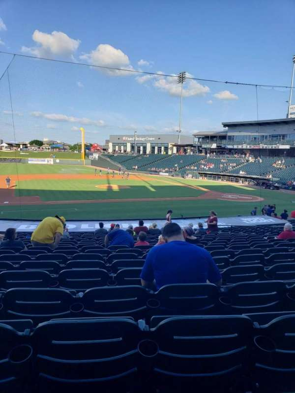 Dell Diamond, secção: 115, fila: 21, lugar: 10