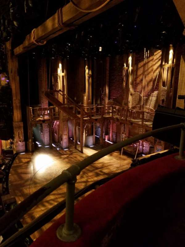 Richard Rodgers Theatre, secção: Box, fila: G, lugar: 3