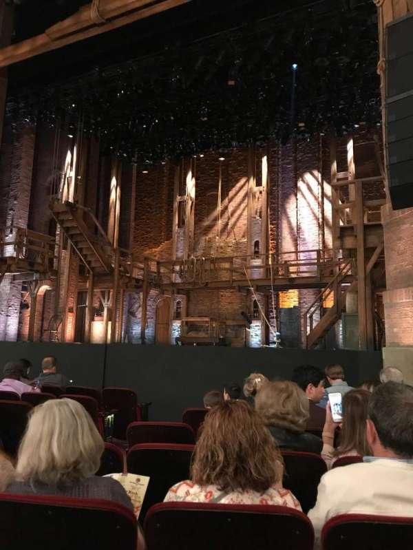 CIBC Theatre, secção: Orchestra R, fila: J, lugar: 8