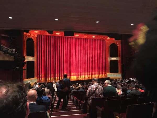 Marquis Theatre, secção: Orchestra L, fila: U, lugar: 1