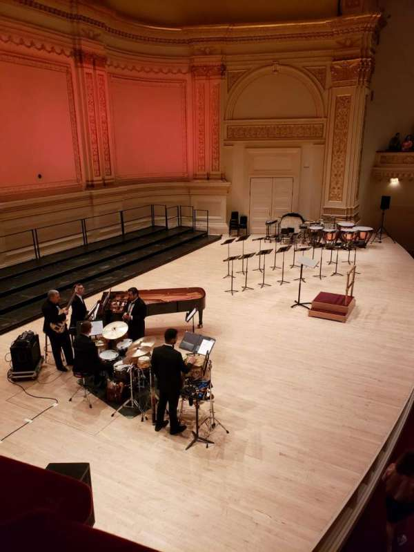 Carnegie Hall, secção: Box 63, fila: 1, lugar: 2