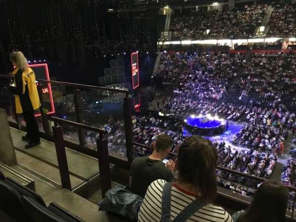 Manchester Arena, secção: 204, fila: c, lugar: 5