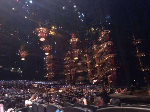 KÀ Theatre - MGM Grand, secção: 104, fila: E, lugar: 13