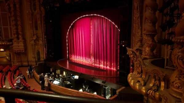 Ohio Theatre (Columbus), secção: Loge A, fila: A, lugar: 22