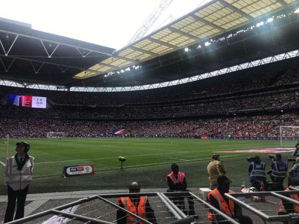 Wembley Stadium, secção: 115, fila: 3, lugar: 121