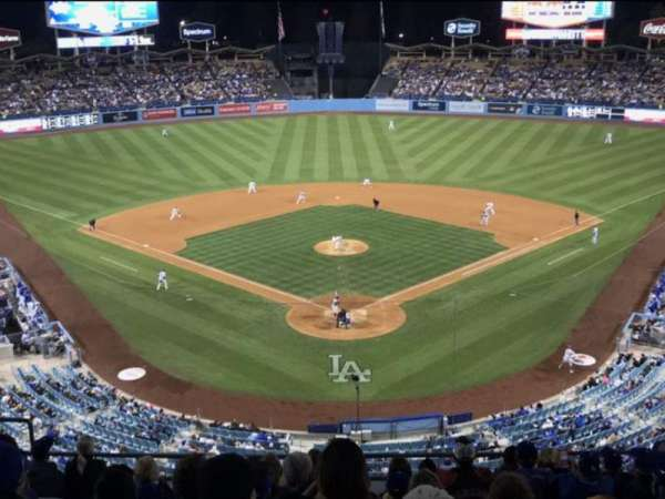 Dodger Stadium, secção: 1RS, fila: K , lugar: 11