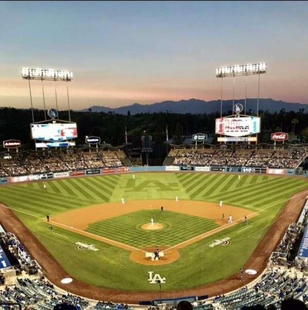 Dodger Stadium , secção: 1RS, fila: K, lugar: 14