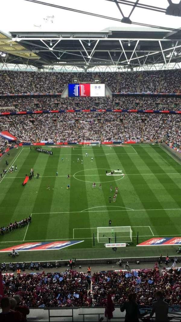 Wembley Stadium, secção: 540, fila: 24, lugar: 19
