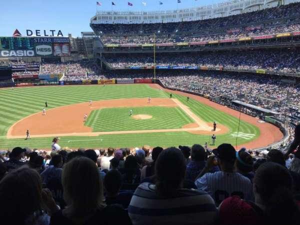 Yankee Stadium, secção: 224, fila: 18, lugar: 4
