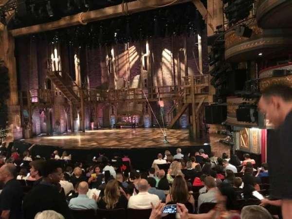 Richard Rodgers Theatre, secção: Orchestra R, fila: N, lugar: 16