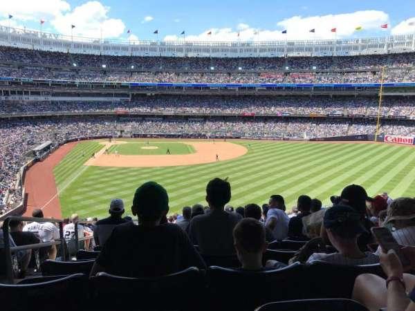 Yankee Stadium, secção: 205, fila: 19, lugar: 31