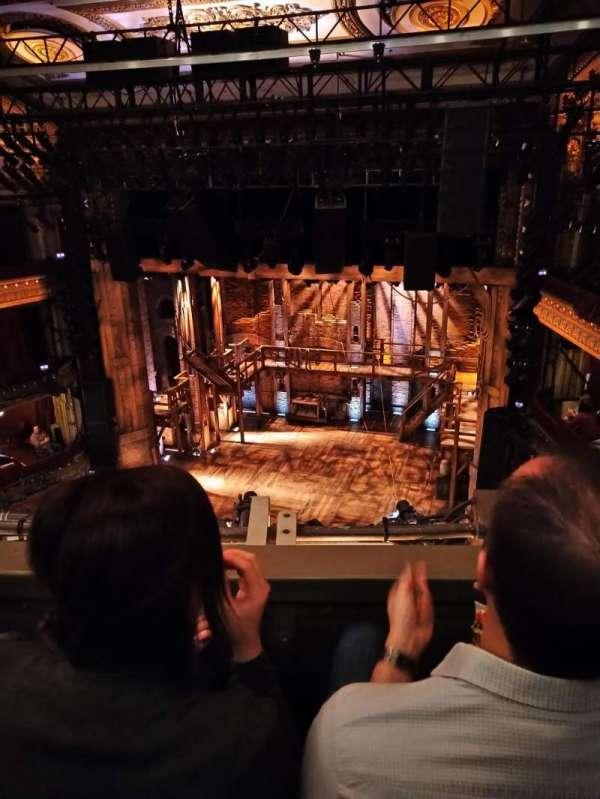 CIBC Theatre, secção: Balcony RC, fila: B, lugar: 422