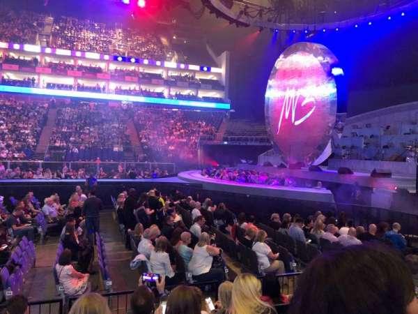 The O2 Arena, secção: 112, fila: F, lugar: 369
