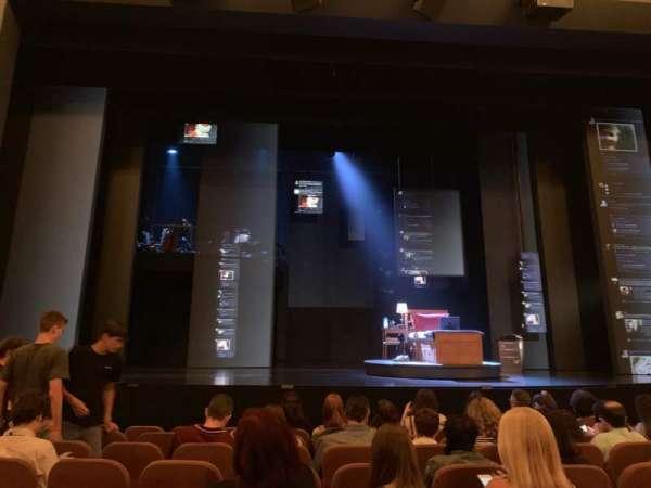 Music Box Theatre, secção: Orchestra C, fila: H, lugar: 110