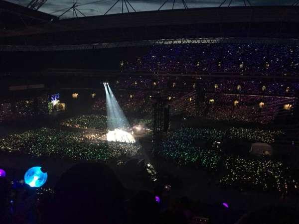 Wembley Stadium, secção: 524, fila: 8, lugar: 321