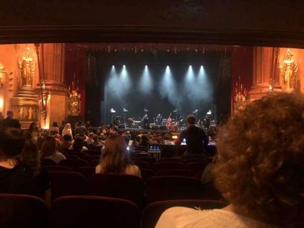 Beacon Theatre, secção: Orchestra C, fila: V, lugar: 108