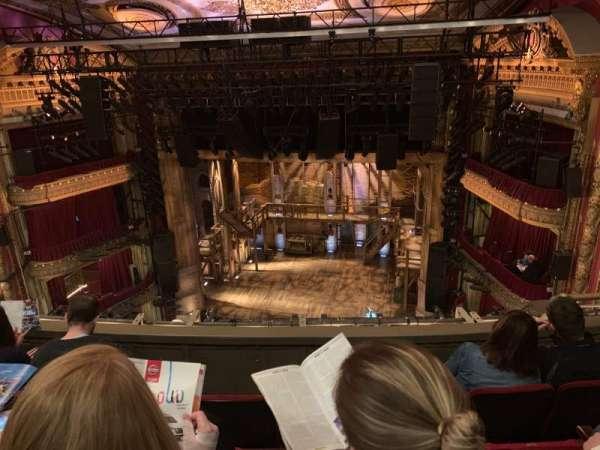 CIBC Theatre, secção: Balcony RC, fila: D, lugar: 418