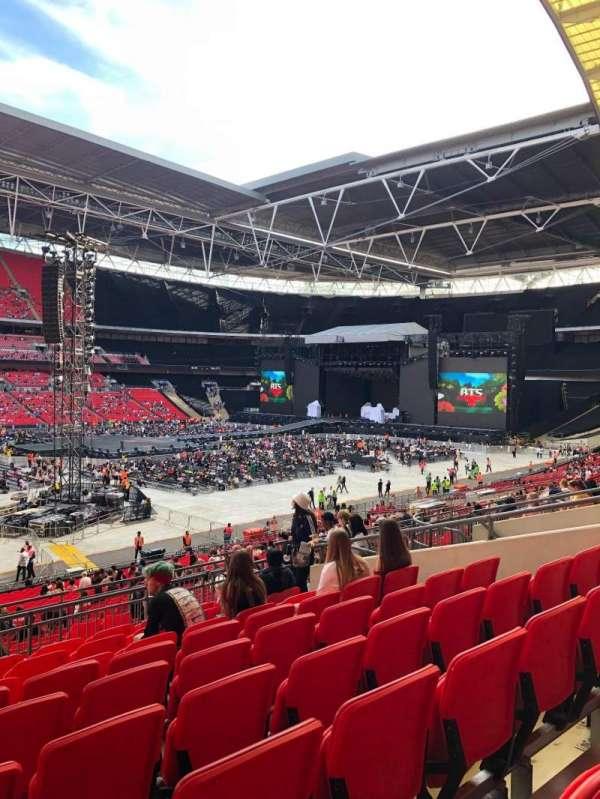 Wembley Stadium, secção: 104, fila: 39, lugar: 37