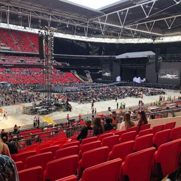 Wembley Stadium, secção: 104, fila: 39, lugar: 36