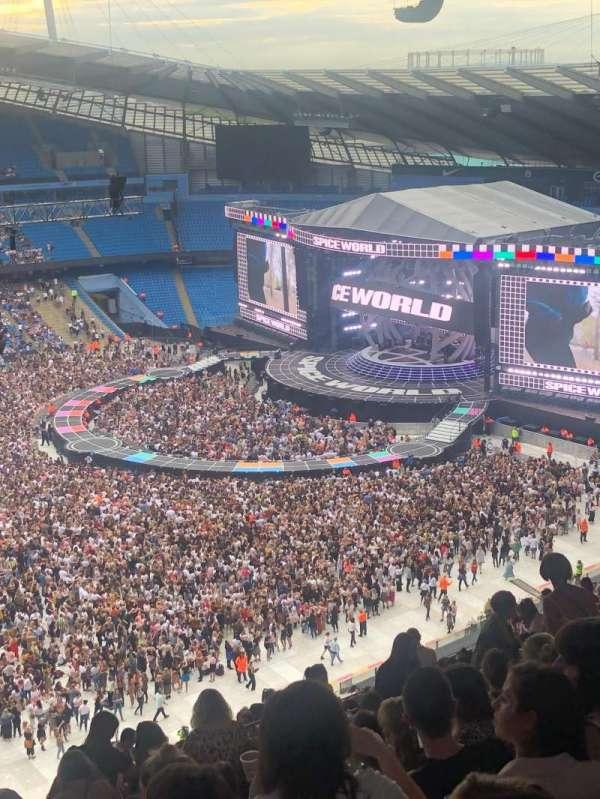 Etihad Stadium (Manchester), secção: 307, fila: As, lugar: 199