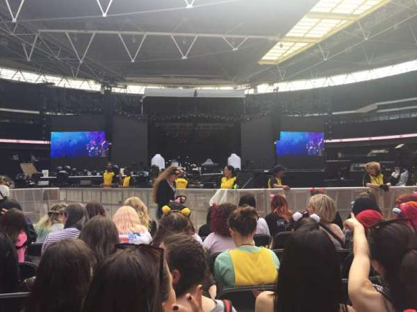 Wembley Stadium, secção: C4, fila: F, lugar: 10