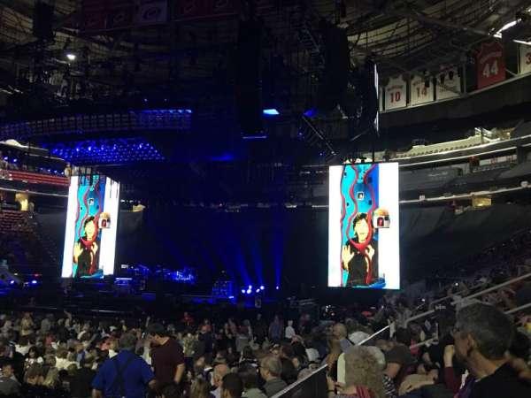 PNC Arena, secção: Lower 120, fila: G, lugar: 12
