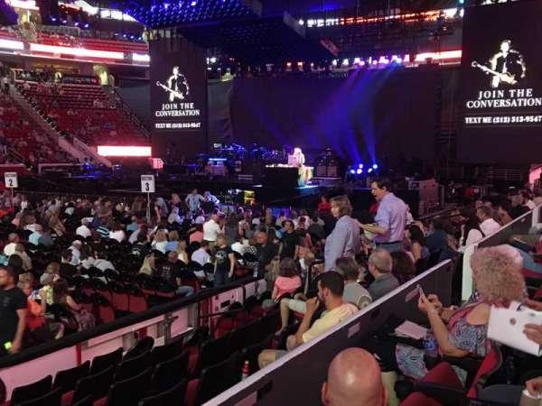 PNC Arena, secção: Lower 120, fila: G, lugar: 13