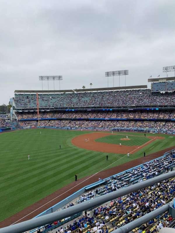Dodger Stadium, secção: 43RS, fila: B, lugar: 16