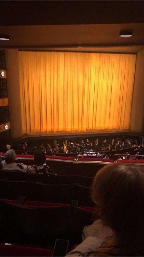David H. Koch Theater, secção: Second ring, fila: E, lugar: 1