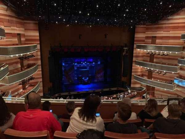 Eccles Theater, secção: 2TL, fila: D, lugar: 110