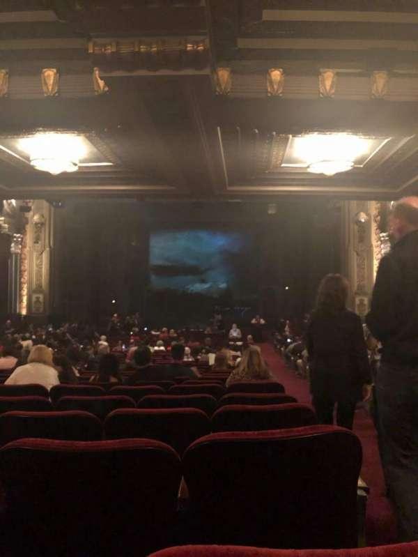 Hollywood Pantages Theatre, secção: Orchestra C, fila: VV, lugar: 101