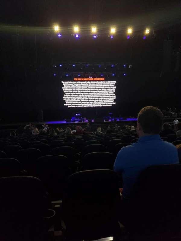 Hollywood Casino Amphitheatre (Tinley Park), secção: 103, fila: EE, lugar: 34