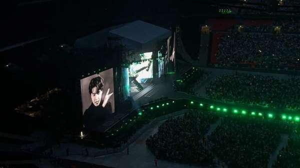 Wembley Stadium , secção: 526, fila: 42, lugar: 393